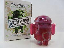 Scott Wilkowski INFECTED ANDROID ANOMALIES resin Pink w/ silver sparkle splatter
