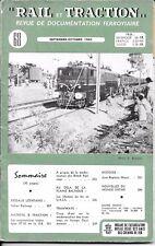 RAIL et TRACTION n° 68   septembre - octobre  1960 -  SNCB