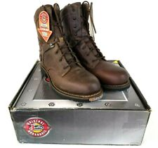 "JUSTIN Men's 8"" Rugged Utah Composition Toe Work Boot WK679 Brown US 11.5EE K150"