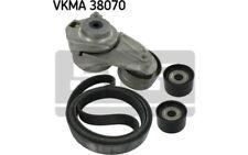 SKF Juego de correas trapeciales poli V Para MERCEDES-BENZ CLASE M VKMA 38070