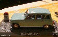 RENAULT 4L 1962 UNIVERSAL HOBBIES 1/43 BLEU GRIS BOITE