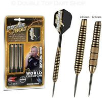 Phil Taylor Power Bolt Brass Steel Tip Darts by Target - Knurled / Ringed