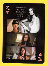 Barbara Bach Actor Movie Film Star Playing Card from China
