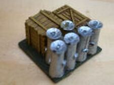 SGTS MESS VL04 1/72 Diecast Four loads of crates and milk churns