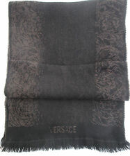 43bda065c4f -Superbe Echarpe VERSACE 100% cachemire TBEG vintage scarf