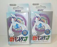Nintendo Poker Playing Cards 1999- Pokemon (Silver : Lugia)-Sealed Set of 2