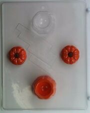 PUMPKIN POUR BOX CLEAR PLASTIC CHOCOLATE CANDY MOLD T008