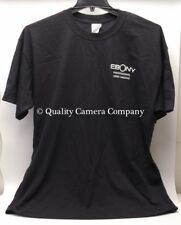 EBONY Professional View Cameras - BLACK XL T-SHIRT - NEW 100% PRESHRUNK COTTON
