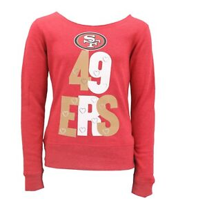 San Francisco 49ers Official NFL Kids Youth Girls Size Light Sweatshirt New Tags