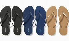 NEW Old Navy Classic Flip Flops for Women Sandals Black Blue Gold 6 7 8 9 10 11
