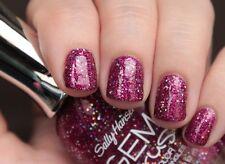 SALLY HANSEN Gem Crush NAIL POLISH Nail POLISH Glitter PINK Lady Luck #07 NEW