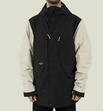 HOLDEN  Men's HIGHLAND Snow Jacket - Black/Bone - Large - NWT - LAST ONE LEFT!