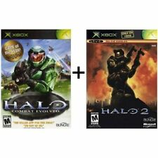 Halo 1 And Halo 2 Bundle Xbox And Compatible For Xbox 360 Very Good