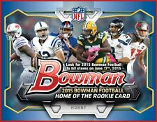 2015 Bowman Football - PARALLEL INSERT SERIAL NUMBERED - Pick Your Card -