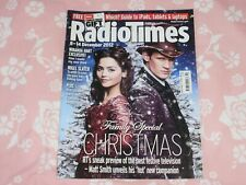 RADIO TIMES 8-14 DEC 2012 DOCTOR WHO MATT SMITH/JENNA COLEMAN EXCELLENT/NR MINT