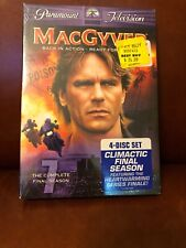 MacGyver - The Complete Final Season (Dvd, 2006, 4-Disc Set) New