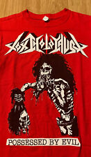 Toxic Holocaust Possessed By Evil T-Shirt Size Men's Small