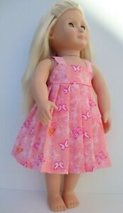 """18"""" dolls clothes summer dress made to fit our generation doll design a friend"""