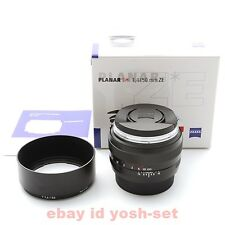 Carl Zeiss Planar T * 1.4 / 50 ZE Canon EF From Japan EMS Express Shipping