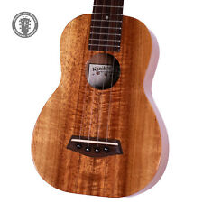 2010s Kanile'a K-1SC Tenor Ukulele Natural w/ Original Hard Shell Case!