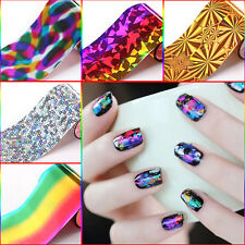 Glitter 20Pcs/set Transfer Sticker Paper Starry Sky Foils Nail Art Tips Manicure