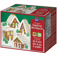 Christmas Holiday Mini Village Gingerbread from Wilton #1910 - New