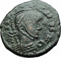 CELTIC Barbarous style of ANCIENT Roman Coin of CONSTANTINE I the GREAT i79424