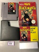 Wrath of the Black Manta - Boxed and Complete - Nintendo NES PAL A