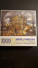 Bits and Pieces - Haunted Haven by Ruane Manning - 1000 Piece Puzzle NEW SEALED