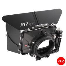"JTZ DP30 4x4"" Film Matte Box Carbon Fiber 15mm/19mm For Sony RED Canon Panasonic"