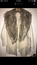 River Island Waterfall Fallaway Coat Fur Jacket Parka Winter 10