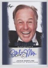 2012 Leaf Pop Century Blue #BA-JM1 Jackie Martling /5 Auto Non-Sports Card 0c3