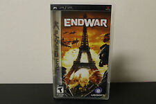 Tom Clancy's EndWar  (PlayStation Portable, 2008) *Tested/Complete