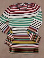 Next Long Sleeved Striped Jumper Size 10
