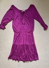 Next Fuchsia Pink Boho Festival Style Dress   - Size 12