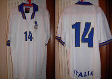 maglia del piero nazionale italiana italia nike nr 14 anni 90