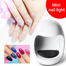 NEW Pro Mini USB  UV LED Gel Lamp Nail Dryer One Finger Manicure Timer Tools 3W