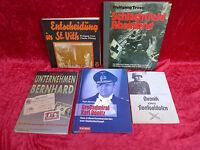 5 alte Bücher__ zum Thema : Zweiter Weltkrieg___!