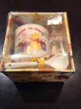 Disney Winnie the Pooh Child Toddler Ceramic Mug And Spoon