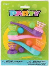 BLOW PIPES PACK OF 4 BIRTHDAY PARTY LOOT BAG FILLER TOY BIRTHDAY PARTY FAVOR