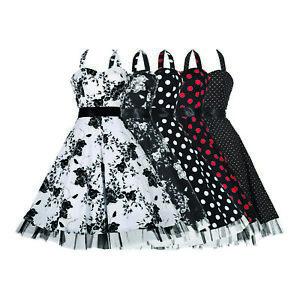 Vintage 1950s Polka Dot Halterneck Jive Swing Dress BNWT