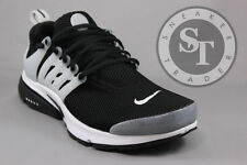 NIKE AIR PRESTO 848132-010 BLACK WHITE NEUTRAL GREY DS SIZE: 7