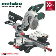 New Metabo 1800W 254mm Sliding Compound Mitre Saw With Laser KGS254M