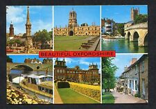 C1970's Multiiviews of Oxfordshire Including Banbury, Abingdon & Burford.