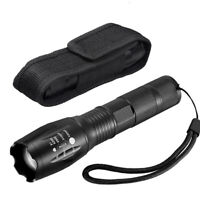 200000lm Genuine G700 LED Tactical Flashlight Zoom Military Grade Torch Holster