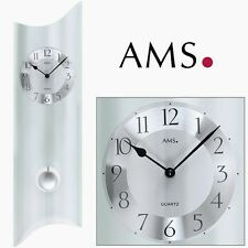 Ams. Design Quarz reloj de pared Ams.7324