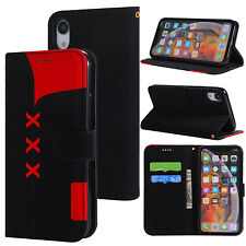 Flip Leather Wallet Card Stand Case Cover For iPhone X XR XS Max Sony XZ3 XZ2