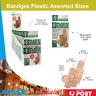Au 100pc Bandages Plastic Assorted Sizes Band Aids Bandage First Aid Latex