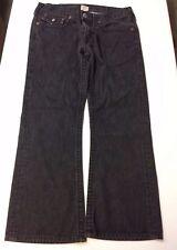 True Religion Jeans Dark Wash 27 Flare USA Black Flare Cotton pants