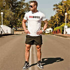 2017 New Brand Gyms t-shirts Mens Fitness Gyms Shirt Man Fashion Crossfit Tees
